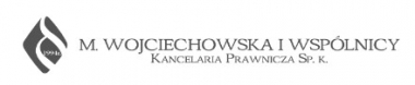 M. Wojciechowska i Wspólnicy - Kancelaria prawnicza